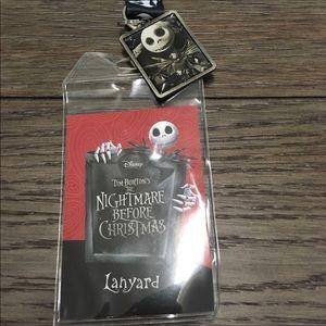 NEW Nightmare Before Christmas Lanyard Jack